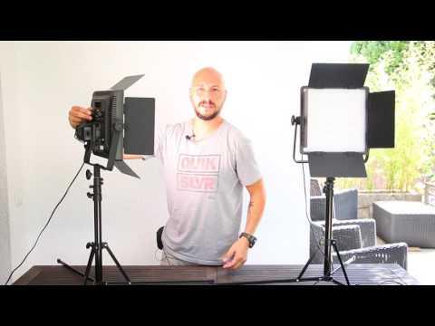 Kit iluminación LED para lucir en tus vídeos!