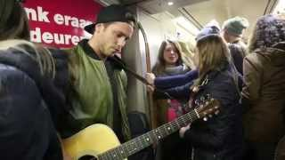 Bastian Baker's Metro Happening (Brussels) - Leaving Tomorrow