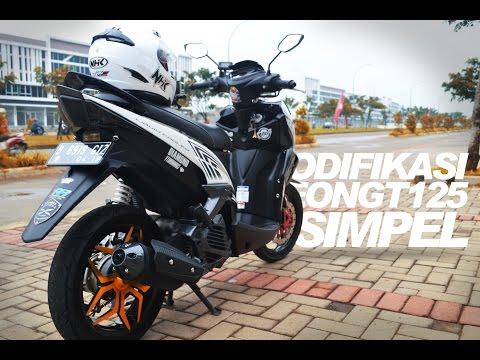 Video MODIFIKASI XEON GT 125 SIMPEL