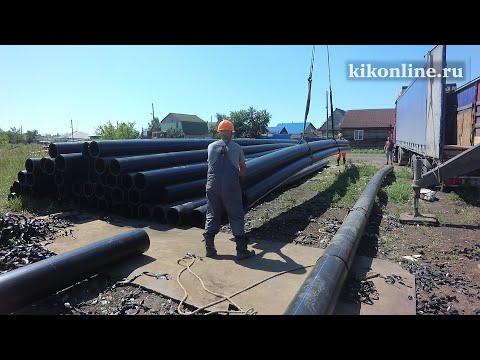 Прокладка хозфекальной канализации в Восточном микрорайоне