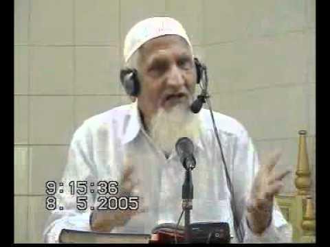 1  surah talaq ayat [2-3] tafseer - maulana ishaq - urdu