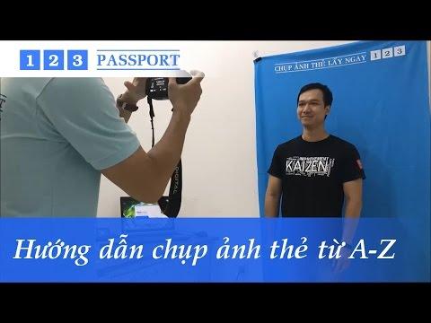 Hướng dẫn chụp ảnh thẻ lấy ngay 5 phút bằng phần mềm 123 Passport