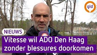 Thomas Letsch en Armando Broja beschouwen voor op Vitesse-ADO