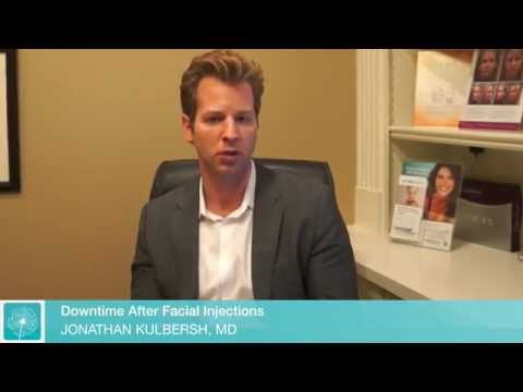 Downtime After Facial Injections | Charlotte Dermal Filler