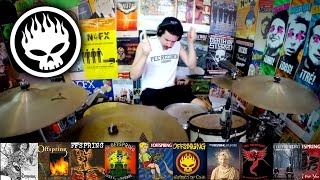 The Offspring: A 5 Minute Drum Chronology - Kye Smith [HD]