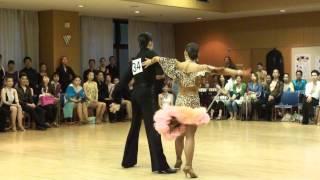 社交ダンス ルンバ 第1位 若者ダンスサークル競技会