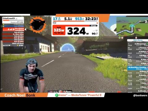 Zwift Live - BonkWerx Endurance Sports Coaching and Pro Bike