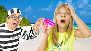 Amelia, Avelina and Akim beach holiday magic crystal adventure