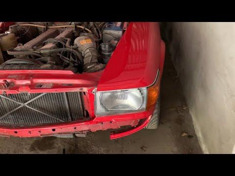 Mercedes 107 headlight fitting problem solved