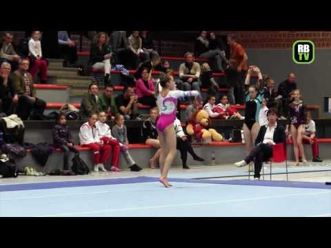 Jana Konta - Pre Olympic Youth Cup 2013 - Kunstturnen - AK 14/15