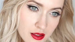 Pin up makeup tutorial for blondes and brunettes