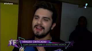 """""""Estou Adorando Os Memes"""", Diz Luan Santana Sobre 'Juntos E Shallow Now'"""