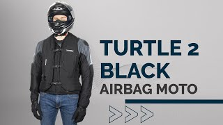 Helite Airbagweste Turtle 2, schwarz