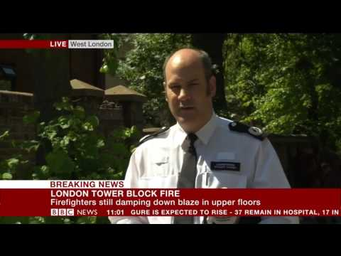 London Fire: 17 people confirmed dead – BBC News
