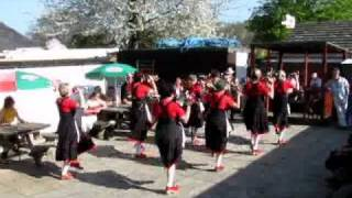 preview picture of video 'Mayflower Morris dance Whitby Shindig - Apr11'