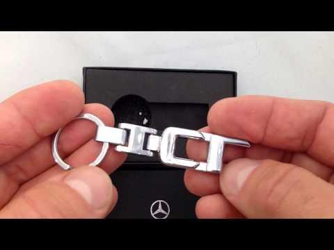 Брелок с логотипом Mercedes CL