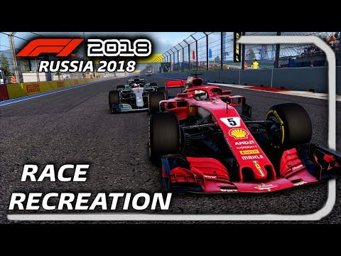 F1 2018 GAME: RECREATING THE 2018 RUSSIAN GRAND PRIX