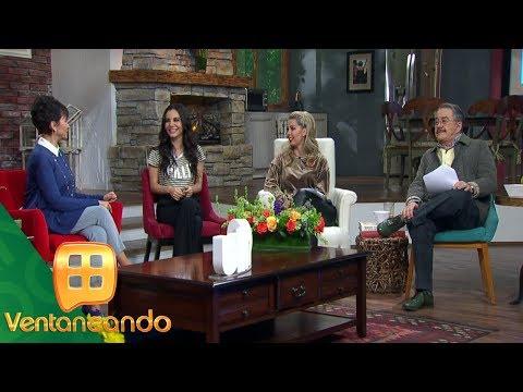 Martha Higareda visita el foro de Ventaneando