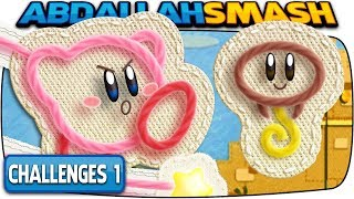 Kirby's Extra Epic Yarn - Part 8:  All Zeke's Hide-and-Seek Challenges!