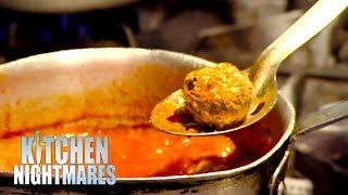 Head Chef Of Italian Restaurant Can't Make Meatballs | Kitchen Nightmares