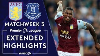 Aston Villa v. Everton | PREMIER LEAGUE HIGHLIGHTS | 8/23/19 | NBC Sports