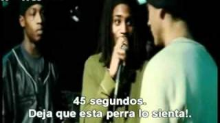 Bunny Rabbit vs. Lyckety Splyt - 8 Mile (Video Official - Subs español)