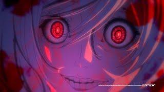 Akudama Drive English Dub | Funimation Clip: Cutthroat loves Swindler… to death!