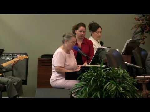 Wentzville Cornerstone Apostolic Sandra Matthews singing June 2010