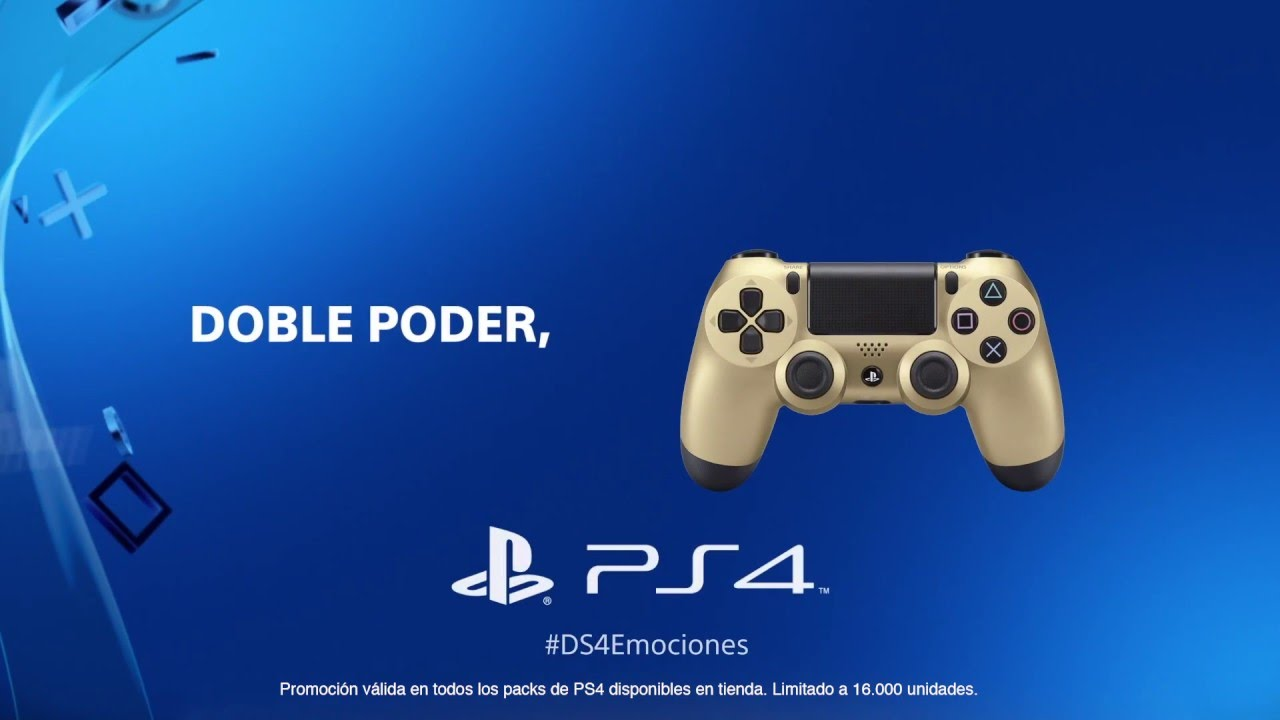 Compra ahora tu PS4 y llévate de regalo un DUALHOCK 4*