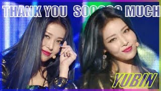 [HOT] Yubin -  Thank U Soooo Much, 유빈 - Thank U Soooo Much show Music core 20181208