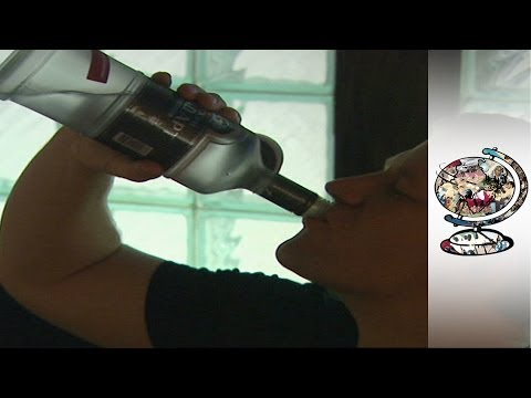 Trattamento acido ambrato ad alcolismo