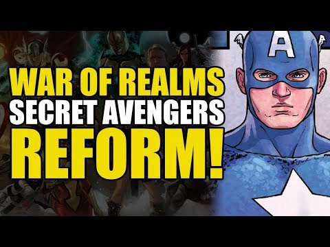 The Secret Avengers Reform (The War Of The Realms Part 3)