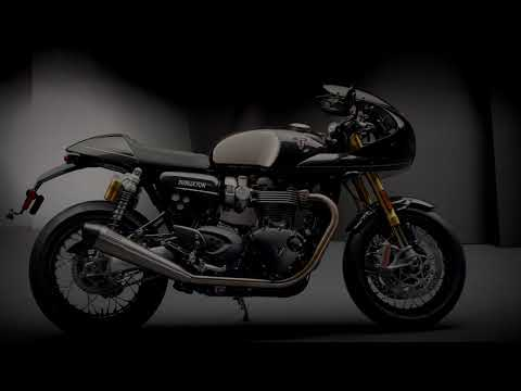 2019 Triumph Thruxton TFC in Saint Charles, Illinois