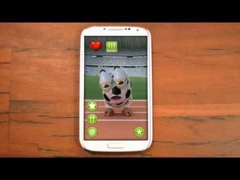 Video of Talking Soccer Ball