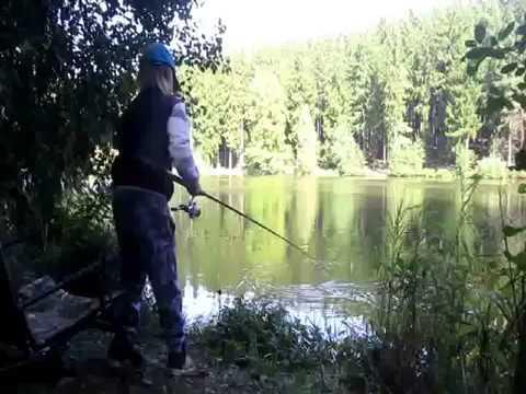Lov ryb na splávek.