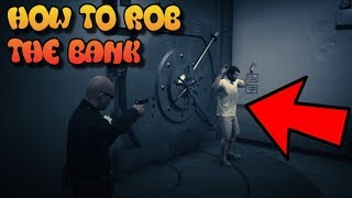 How To Rob The Bank In GTA5 Story Mode |Make Millions