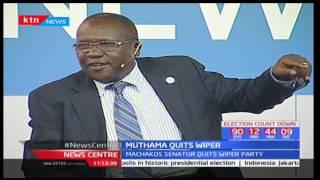 Machakos Senator Johnson Muthama accuses Wiper leader Kalonzo Musyoka of micromanagement pt 2