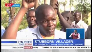 A man in Bungoma put on notice by the neighbors for accusing every man of sleeping with his wife