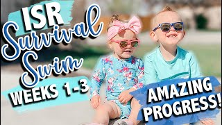 ISR BABY SWIMMING   Infant Swimming Resource   First 3 weeks of ISR   What to Expect with ISR