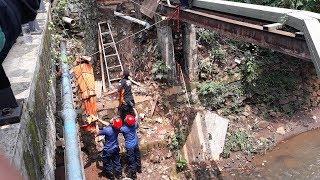 Seorang Pria Ditemukan Tewas Gantung Diri di Kolong Jembatan Tebet Jaksel