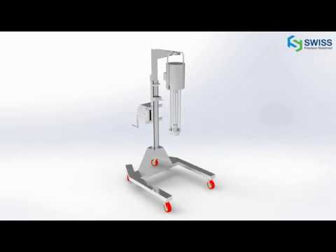 Telescopic Stand Homogeniser