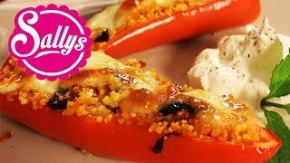 Spitzpaprika Gefüllt Mit Couscous Aus Dem Ofen / Mediterran / Vegetarisch / Auch Vegan Möglich!