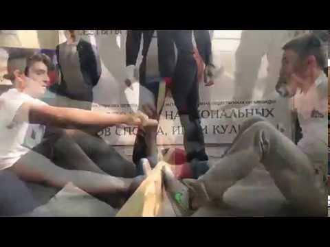 Презентация мас-рестлинга во Владикавказе