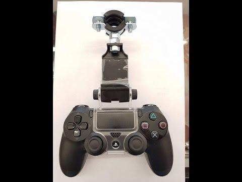 Playstation 4 Controller Halterung für den Shisha Schlauch