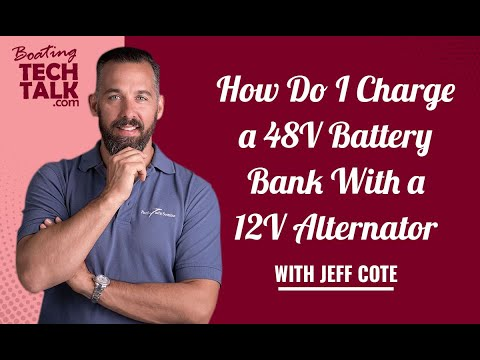 How Do I Charge a 48V Battery Bank With a 12V Alternator?