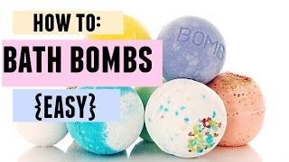 HOW TO: BATH BOMBS {EASY}