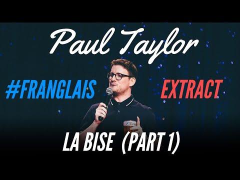Paul Taylor o francouzském líbání na tvář