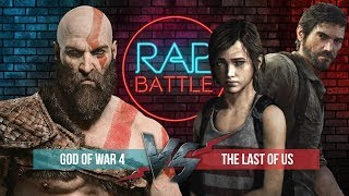 Рэп Баттл - God of War 4 vs. The Last of Us
