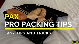 4 Pax Tracks Suite Case Packing Hacks!