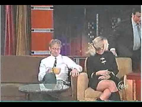 In 2007 Andy Dick was escorted by security from Kimmel's show after he kept touching Ivanka Trump